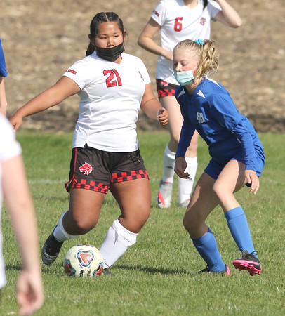 051121 Indian Creek HBR girls soccer