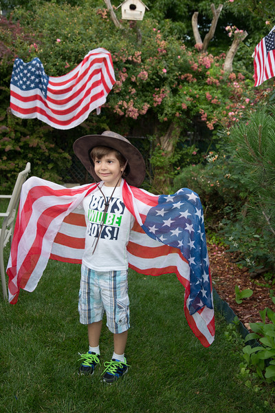 Celebrating Fourth of July 2015