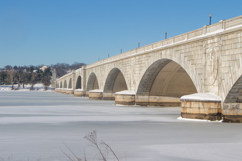 Jan. 24th - Memorial Bridge and Arlington Cemetery