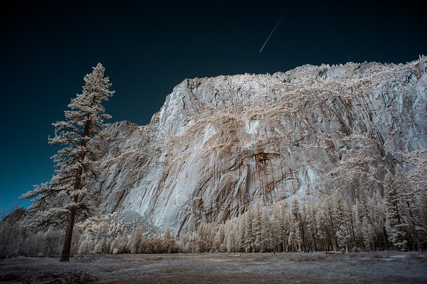 Yosemite National Park infrared image