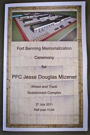 2011 07 27 Mizener Complex Memorialization