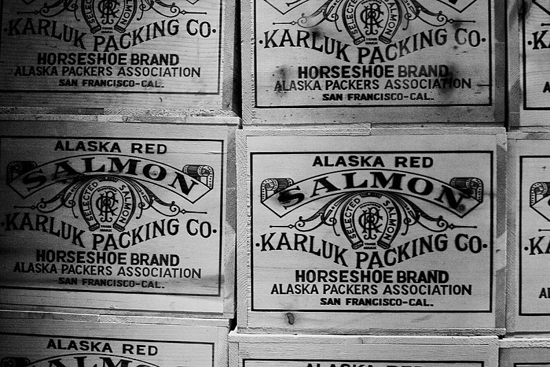 Balclutha Cargo  The Balclutha's cargo included canned salmon from Alaska.