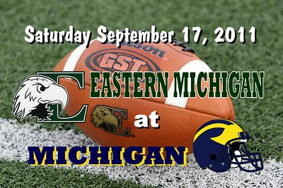 2011 Eastern Michigan at Michigan (09-17-11)