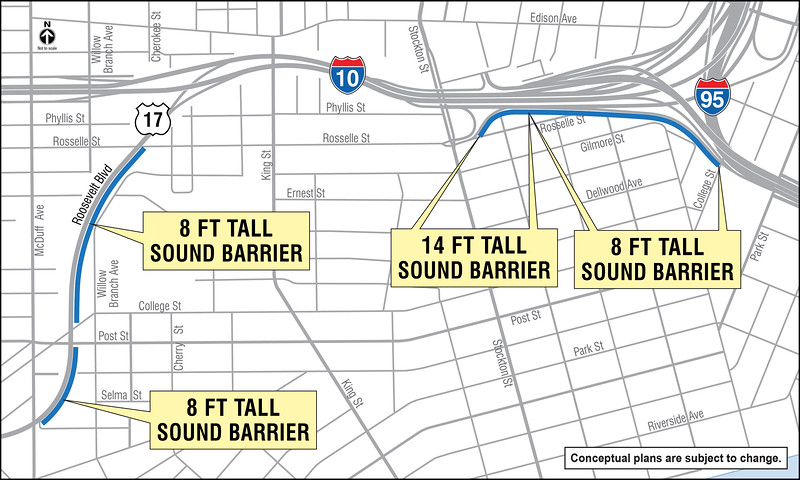 Your 10 & 95 Sound Barrier Map