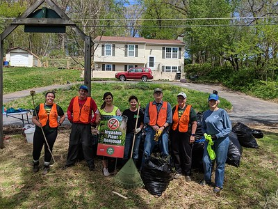4.20.19 Oella Cemetery Cleanup