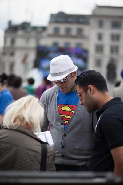 Super Hero, London