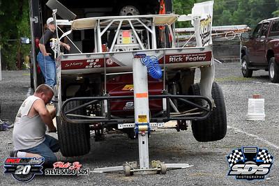 Grandview Speedway - 6/20/20 - Steve Sabo (SDS)