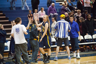 Feb 7 2012 - KingCo Semi-final: Juanita 50 Bellevue 52