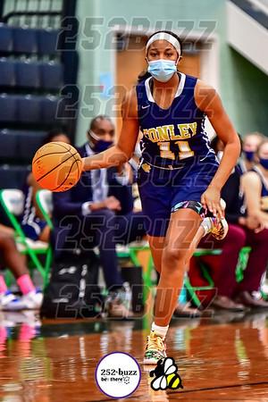 JH Rose vs DH Conley varsity girls basketball, January 13, 2021