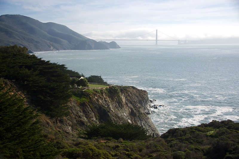 From Point Bonita lighthouse area