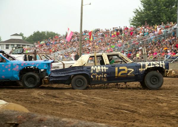 Demolition Derby at the Fair