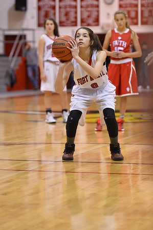8th Girls Basketball 1-6-2015