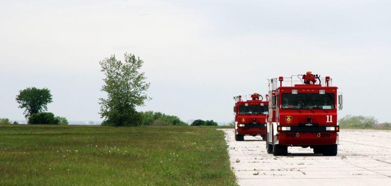 Bombardier fire service