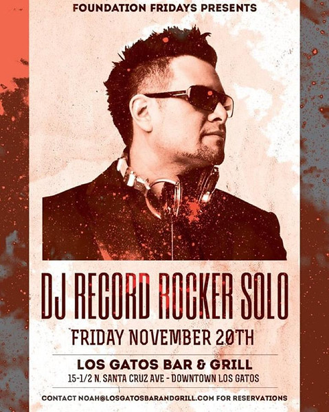 Dj Record Rocker Solo @ LGBG 11.20.15