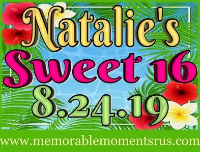 Natalie's Sweet 16