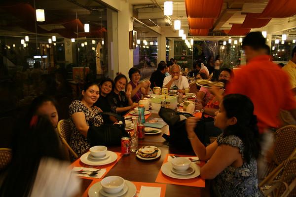 Tita Reena's Birthday Dinner