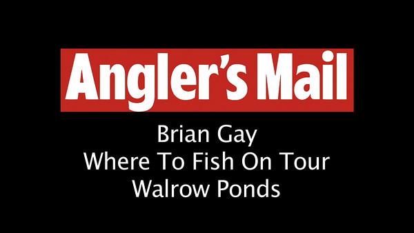 Where To Fish On Tour