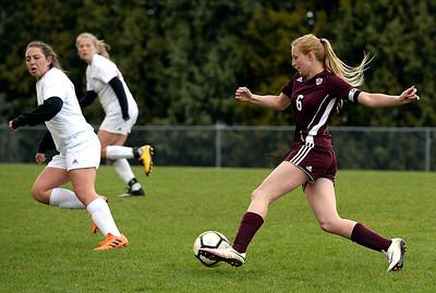 Berthoud vs Loveland Girls Soccer 5/1/19