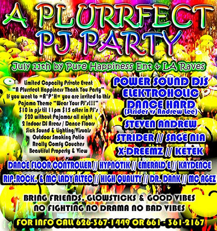 A PLURRfect PJ Party