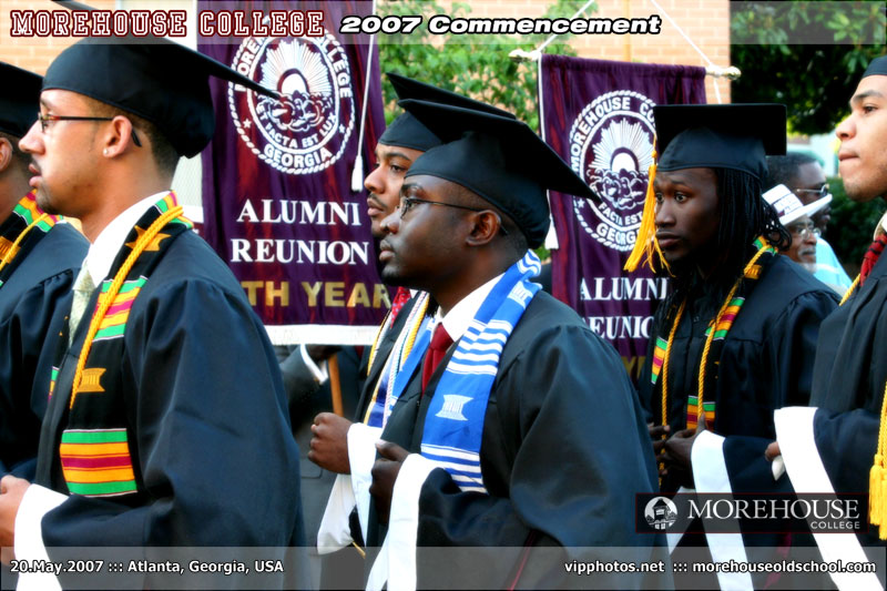 Morehouse College Commencement ::: ATL, GA, USA [May.20.2007]