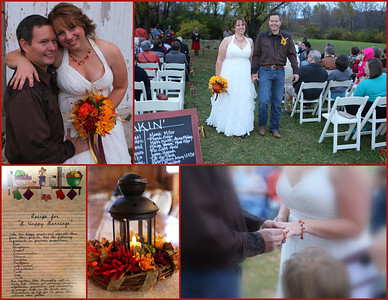 Dayna & Paul Get Married @ Harvest Moon Pond