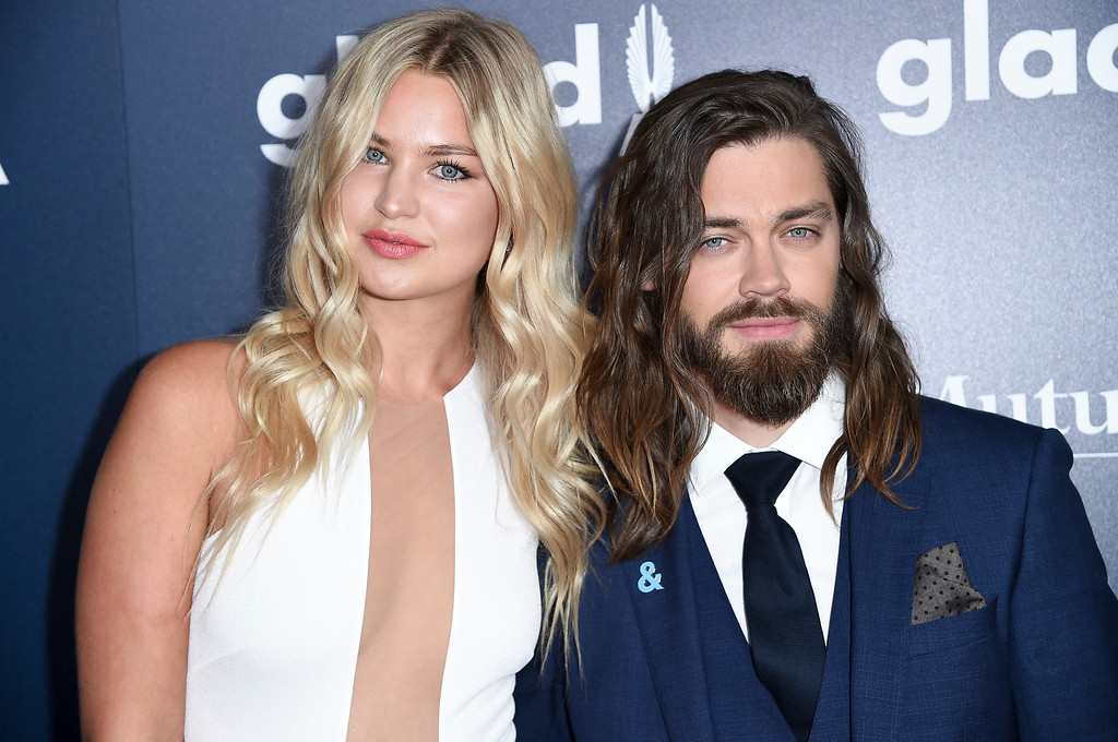 . Jennifer Ackerman, left, and Tom Payne attend the 28th Annual GLAAD Media Awards at the Beverly Hilton Hotel on Saturday, April 1, 2017, in Beverly Hills, Calif. (Photo by Richard Shotwell/Invision/AP)