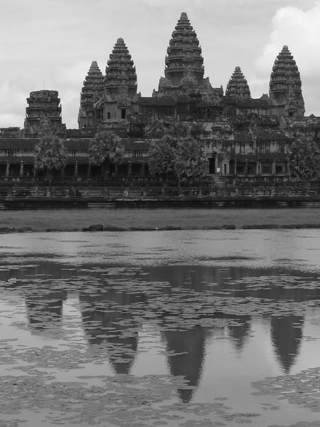 Angkor Wat's main temple, Angkor Tom