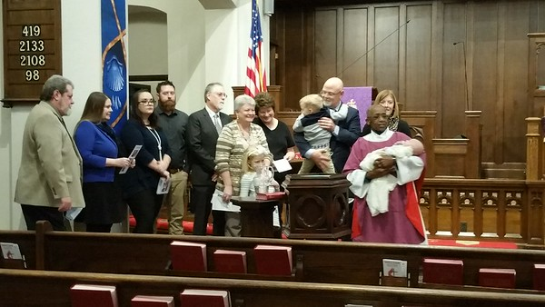 Baby Reed Baptism