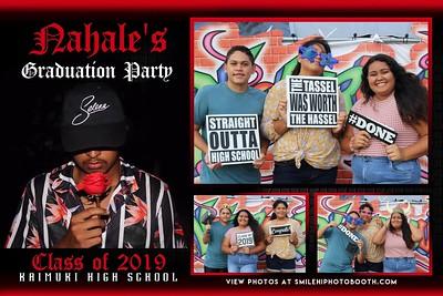 Nahale's Grad party