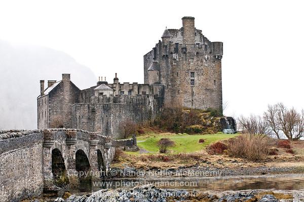 Eilean Donan, Isle of Skye, Great Glen Day 8