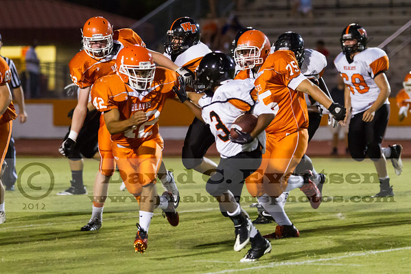 Boone JV Football #42 - 2012