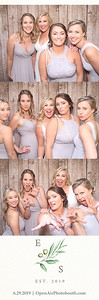 6-29-2019 Scott and Erika's Wedding (photostrips)