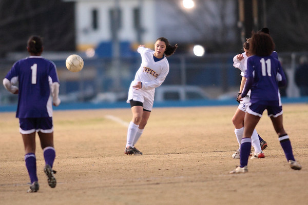THS girls v Columbus 2009