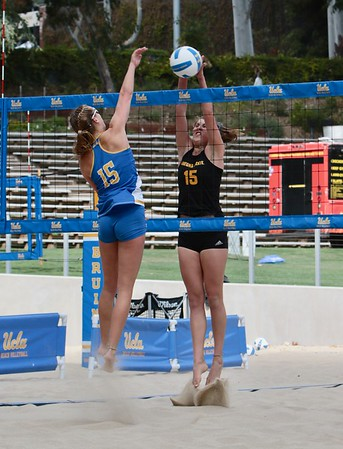 Az State vs UCLA  Womans Beach VB Game Mar. 7, 2020