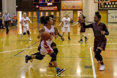 Girls JV Basketball v Mount Vernon 1/22/19