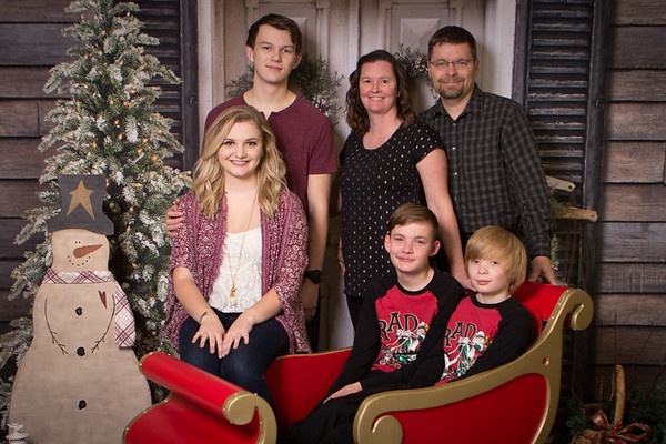2017 Tilson Family Christmas Photos