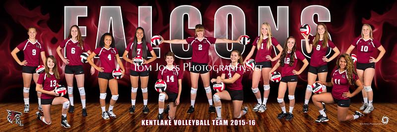 2015 Kentlake Volleyball