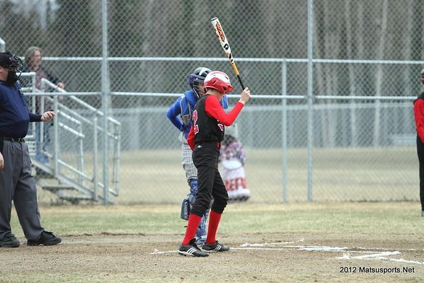 Houston Vs. Kodiak JV Baseball 5-5-2012