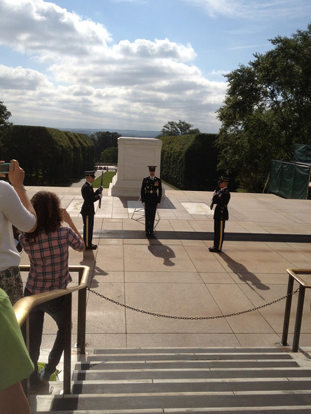 All, Arlington, Changing of the Guard