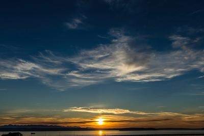 Everett Sunset 3-30-16