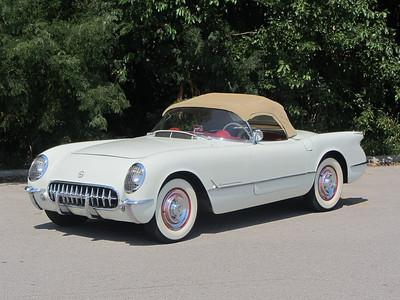 Sold-1954 Corvette for sale