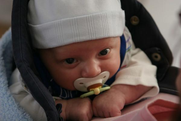 Jonah - 1 month old - November 2006