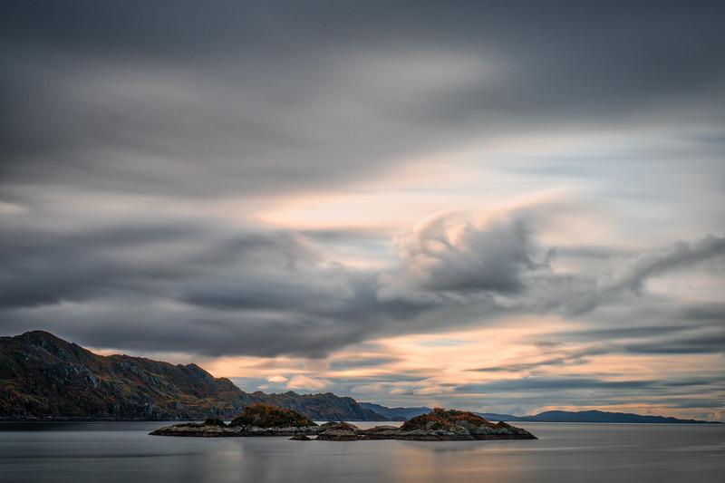 Loch and Stormy Sky, Glencoe