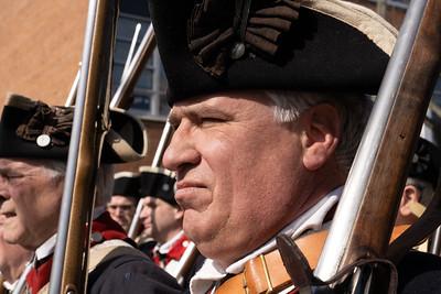 George Washington Birthday Parade 2020 in Alexandria, Virginia