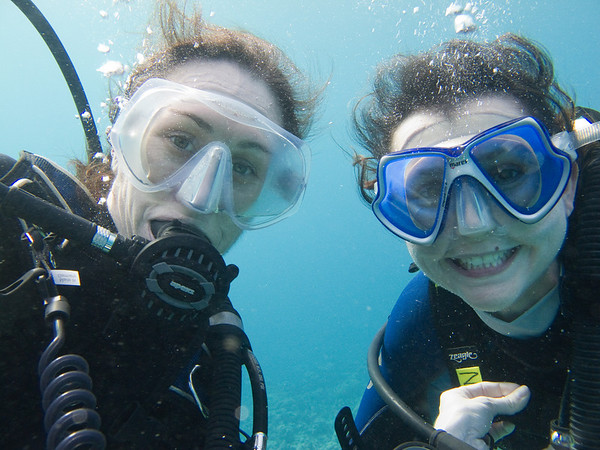 Diving in Aqaba with Nedjma and Sharif - Feb 2011
