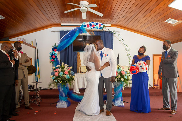Donnie and Theresa's Wedding. Exuma, Bahamas.  9/12/21