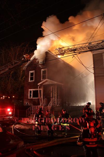 Malden, MA - 2nd Alarm, 18 Linwood Street, 1-13-10