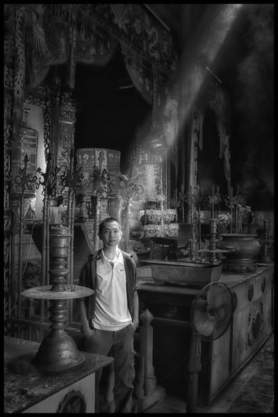 My friend Hai toured me around Saigon. He is a photographer too.