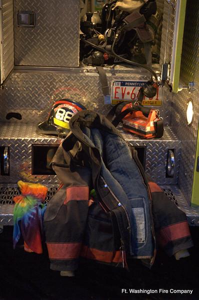 Burn Drill - July 13, 2009