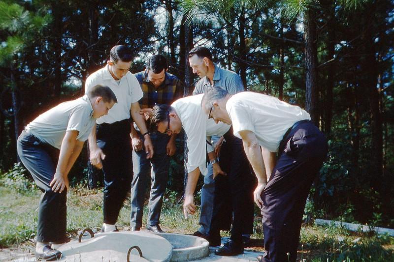 1966 - Checking Cistern.jpg